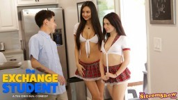 The Exchange Student Study Buddies - S2:E7 - Eliza Ibarra,Jane Wilde - Nubiles Network Hd Video